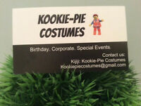 LEGO MOVIE COSTUME RENTAL/MASCOT FOR HIRE