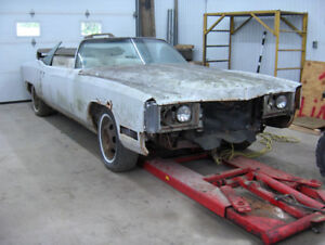 Pièces pour Cadillac Eldorado 1971-1972-1973