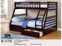 MIKES GOT THESE SOLID WOOD BUNKBEDS WITH DRAWERS JUST $449