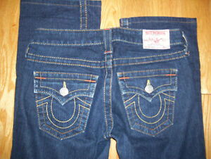 Huge Lot of Womens True Religion Jeans 9 Total Sizes 26 + 27 Cambridge Kitchener Area image 2