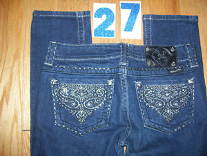 Huge Lot of Womens Miss Me Jeans 7 Total Size 26 + 27 Cambridge Kitchener Area image 6