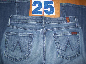 Lot of 11 Pairs of 7 For All Mankind Womens Jeans