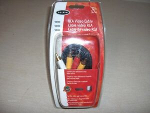 Belkin RCA Video Cable3.7m (12 ft.)
