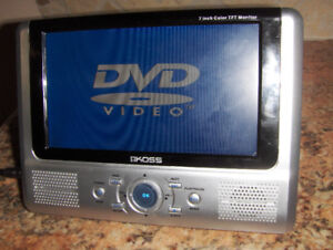 Portable DVD player Koss in good condition