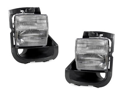 DEPO Clear Lens Fog Light + Signal Lights Pair Fit For 2003-2007 Cadillac CTS-V