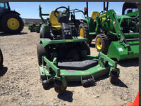 JOHN DEERE 1435 FRONT MOWER ONLY 495 HOURS-OPEN TO OFFERS