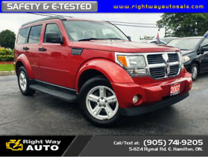 2007 Dodge Nitro SLT | DVD | SAFETY & E-TESTED
