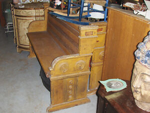PINE CHURCH PEW  *REDUCED to $350.00*