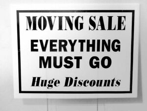 Moving? Need to sell your items for fast cash?