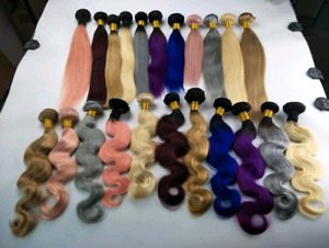 BRAZILIAN VIRGIN HAIR  BUNDLES MALAYSIAN