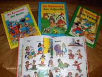 """Livres éducatifs DISNEY """"vintage"""""""