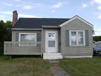 WEST SIDE Fundy Heights 2 B/R house avail. Oct. 1st