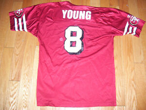Huge Lot of NFL Jerseys 10 Different Elway Marino Young More Cambridge Kitchener Area image 3