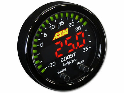 AEM 30-0306 X-Series Boost Pressure Gauge -30 ~ 35PSI