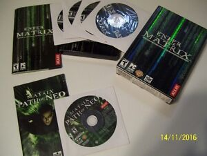 Enter the Matrix et Matrix Path of Neo Jeu PC