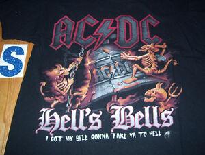 Huge Lot of Rock Tee Shirts ACDC Maiden Metallica GNR Kiss MORE Cambridge Kitchener Area image 8