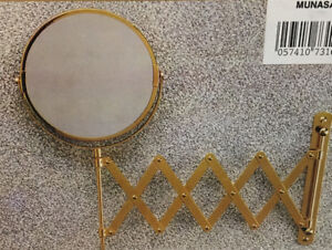 TRUE IMAGE AND MAGNIFICATION WALL MOUNTED MIRROR (BRAND NEW)