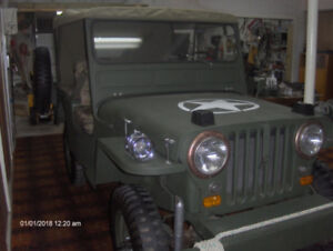 1948 Army Willys