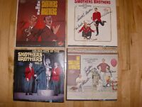 SMOTHERS BROTHERS L P Album Collection Autographed