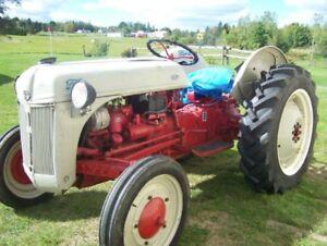 8N 1950 Ford Farm Tractor