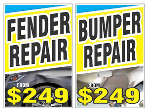 Bumper Repairs $249.* Auto Body Shop Denting Cheap Insurance