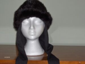 WOMEN'S OR GIRL FUR MUSKRAT HAT