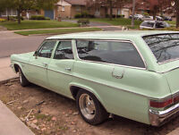 1966 CHEVY IMPALA WAGON EXCELLENT CONDITION