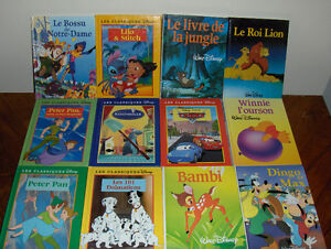 Gros livres DISNEY (100 pages)