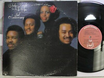 Soul Lp Gladys Knight   The Pips 2Nd Anniversary On Buddah