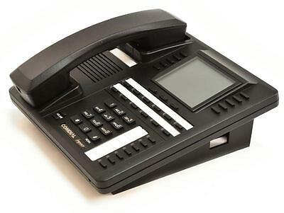 Fully Refurbished Comdial Impact 8412fj Large Display Speakerphone Black