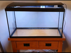 Fish Tank & Console Table