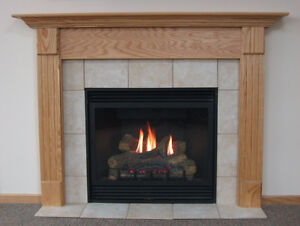 Gas fire place repaired
