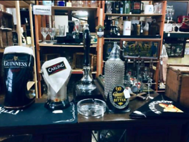 Wanted pub and bar items and memorabilia
