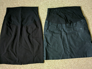 Maternity business skirts medium