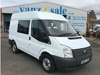 2013 - Ford Transit 2.2TDCi ( 100PS ) ( EU5 ) 260S DOUBLE CAB 260 SWB