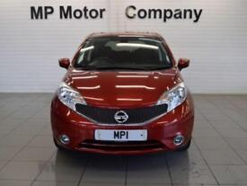 2015 64 NISSAN NOTE 1.2 ACENTA PREMIUM 80 BHP 5DR 5SP ECO MPV,22,000M,FSHX3, RED