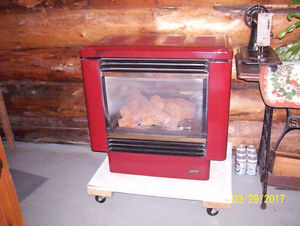 PACIFIC ENERGY NG FREE STANDING FIREPLACE