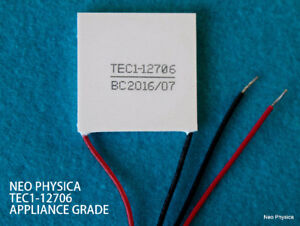 Research Grade - Thermoelectric Peltier plate modules