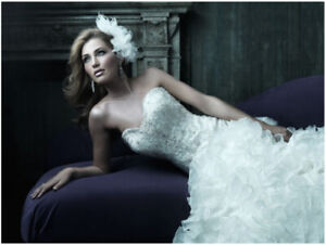 Beautiful Wedding Gown for sale - Allure Couture Style C212