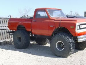 1970 chevy mud bogger truck