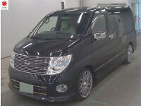 2008 (57) NISSAN ELGRAND 3.5 V6 Highway Star Automatic Red Leather SERIES 3