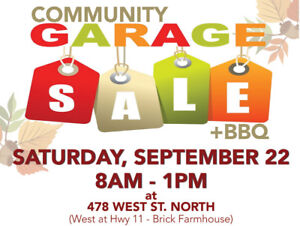 Community Garage Sale + BBQ for Charity