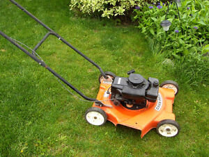 Gas lawn mower Gran Prix by Noma  in good working order
