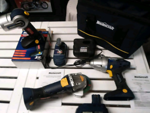18V Cordless Mastercraft Tool Kit