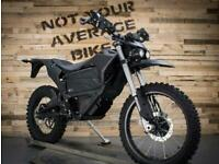"NEW ZERO FX ZF7.2 - NYAB SPECIAL ""BLACK OPS"" ELECTRIC GREEN LANE MOTORCYCLE"