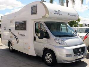 2011 FIAT DUCATO JAYCO CONQUEST 3.0L TURBO AUTO DIESEL MOTORHOME Cannington Canning Area Preview
