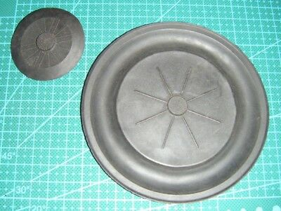 Snark III vintage double hose scuba regulator parts diaphragm and ex valve NOS