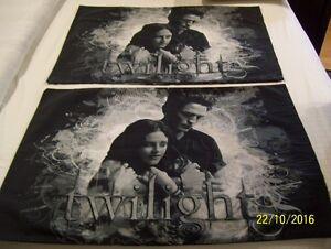 Ed & Bella Twilight Pillow Cases Taies Oreiller Twilight