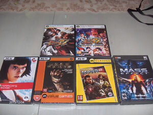 Mirror's Edge, Dead Space, Mass Effect, Street Fighter...