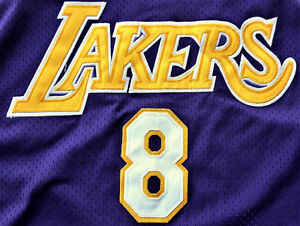 NBA Kobe Bryant Champion #8 Away Jersey XXL Los Angeles Lakers